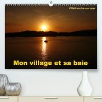 Alain Hanel - ae. - Mon village et sa baie (Calendrier supérieur 2020 DIN A2 horizontal) - Villefranche-sur-mer est mon village, situé entre Nice et Monaco, il possède l'une des plus belles baies du monde (Calendrier mensuel, 14 Pages ).