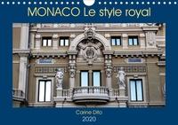 Carine Dito - MONACO Le style royal (Calendrier mural 2020 DIN A4 horizontal) - Photographies de l'architecture monesgasque (Calendrier mensuel, 14 Pages ).
