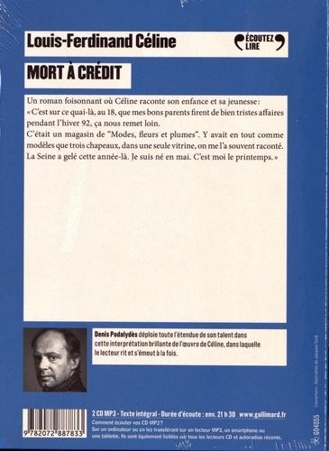 Mort à crédit  avec 2 CD audio MP3