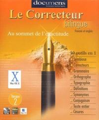 Documens - Le correcteur bilingue - Français et anglais, version 2, CD-ROM.