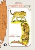 Mukazali - Napakola langi na banyama ya zamba ya congo, je colorie les animaux sauvages du congo - Buku ya kopakola langi, livre de coloriages.