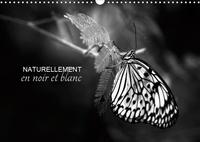 Cécile Gans - Naturellement en noir et blanc (Calendrier mural 2020 DIN A3 horizontal) - Une autre vision de la nature (Calendrier mensuel, 14 Pages ).