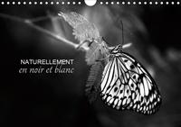 Cécile Gans - Naturellement en noir et blanc (Calendrier mural 2020 DIN A4 horizontal) - Une autre vision de la nature (Calendrier mensuel, 14 Pages ).