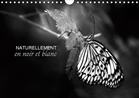Naturellement en noir et blanc (Calendrier mural 2020 DIN A4 horizontal). Une autre vision de la nature (Calendrier mensuel, 14 Pages )