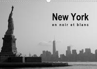 Soizic Lebouc - New York en noir et blanc (Calendrier mural 2020 DIN A3 horizontal) - À la découverte de New York (Calendrier mensuel, 14 Pages ).