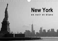 Soizic Lebouc - New York en noir et blanc (Calendrier mural 2020 DIN A4 horizontal) - À la découverte de New York (Calendrier mensuel, 14 Pages ).