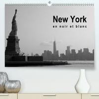 Soizic Lebouc - New York en noir et blanc (Calendrier supérieur 2020 DIN A2 horizontal) - À la découverte de New York (Calendrier mensuel, 14 Pages ).