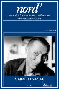 Paul Renard - Nord' N° 63, Juin 2014 : Gérard Farasse.