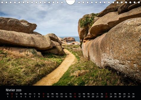 Normandie et Bretagne (Calendrier mural 2020 DIN A4 horizontal). Beaux endroits en Normandie et en Bretagne (Calendrier mensuel, 14 Pages )