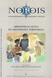 Sylvie Lardon et Eduardo Chia - Norois N° 209/2008/4 : Dispositifs et outils de gouvernance territoriale.