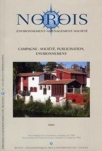 Valérie Jousseaume - Norois N° 218-1/2011 : Campagne : société, publicisation, environnement.
