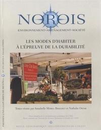 Annabelle Morel-Brochet et Nathalie Ortar - Norois N° 231-2014/2 : Les modes d'habiter à l'épreuve de la durabilité.