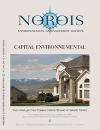Greta Tommasi et Frédéric Richard - Norois N° 243-2017/2 : Capital environnemental.
