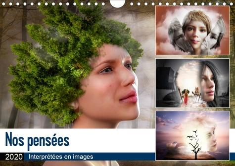 Nos pensées interprétées en images (Calendrier mural 2020 DIN A4 horizontal). Représentation par l'image de nos sentiments (Calendrier mensuel, 14 Pages )