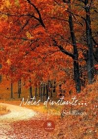 Denis Schillinger - Notes d'instants....
