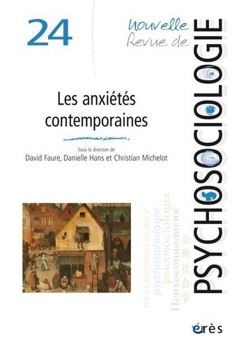 Erès - Nouvelle revue de psychosociologie N° 24 : Les anxiétés contemporaines : dialogues pluridisciplinaires.