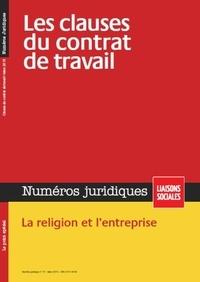 Sandra Limou et Marie Mourat - Numéros juridiques Mars 2015 : Les clauses du contrat de travail.