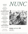 Collectif - Nunc N° 44 : Lou Andreas Salomé.