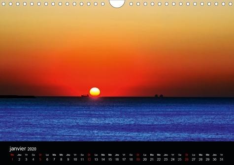Ode au soleil (Calendrier mural 2020 DIN A4 horizontal). Laissons les rayons du soleil entrer dans nos cœurs, les réchauffer, leur insuffler de l'amour de vivre, de la force, de la confiance, du bonheur (Calendrier mensuel, 14 Pages )