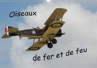 Michel Denis - CALVENDO Choses  : Oiseaux de fer et de feu (Calendrier mural 2021 DIN A3 horizontal) - Exposition en plein ciel des avions parmi les plus anciens  lors d'un meeting aérien. (Calendrier mensuel, 14 Pages ).