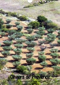 N N - Oliviers de Provence (Calendrier mural 2020 DIN A4 vertical) - Photos de ces majestueux oliviers de Provence (Calendrier mensuel, 14 Pages ).