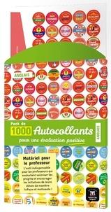 Maison des langues - Pack de 1 000 autocollants pour une évaluation positive Anglais - Matériel pour le professeur.
