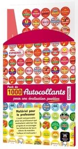 Maison des langues - Pack de 1 000 autocollants pour une évaluation positive Espagnol - Matériel pour le professeur.