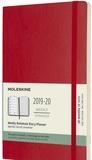 SODIS (PAPET) - Agenda Moleskine 18M 13 x 21 Soft rouge