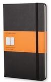 SODIS (PAPET) - Carnet Moleskine rigide 13 x 21 cm ligné noir