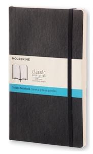 SODIS (PAPET) - Carnet Moleskine souple 13 x 21 cm pointillé noir