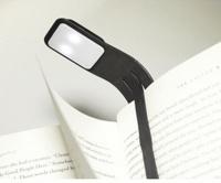 SODIS (PAPET) - Lampe de lecture Moleskine noire flexible USB rechargeable