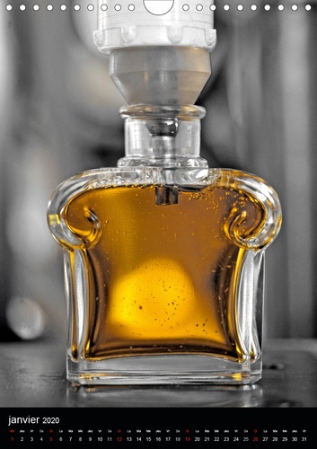 Parfum (Calendrier mural 2020 DIN A4 vertical). Parfums Guerlain (Calendrier mensuel, 14 Pages )
