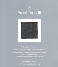 Christiane Tricoit - Passage d'encres N° 32 : Frontières III.