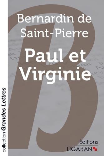 Paul et Virginie Edition en gros caractères