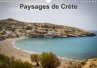 Didier Steyaert - Paysages de Crète (Calendrier mural 2020 DIN A4 horizontal) - Sélection de photographies de Crète (Calendrier mensuel, 14 Pages ).