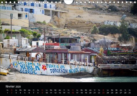 Paysages de Crète (Calendrier mural 2020 DIN A4 horizontal). Sélection de photographies de Crète (Calendrier mensuel, 14 Pages )