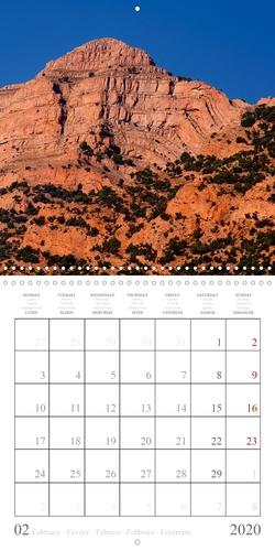 Paysages de l'Atlas (Calendrier mural 2020 300 × 300 mm Square). Le paysage époustouflant d'une vallée dans l'Atlas marocain (Calendrier mensuel, 14 Pages )