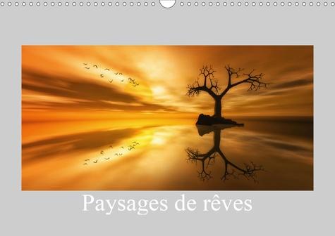 Paysages de rêves (Calendrier mural 2020 DIN A3 horizontal). Quelques paysages imaginaires (Calendrier mensuel, 14 Pages )