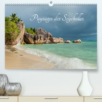 Muriel Thomas - Paysages des Seychelles(Premium, hochwertiger DIN A2 Wandkalender 2020, Kunstdruck in Hochglanz) - Les curiosités des Seychelles (Calendrier mensuel, 14 Pages ).