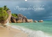 Muriel Thomas - Paysages des Seychelles - Les curiosités des Seychelles. Calendrier mural A3 horizontal 2017.