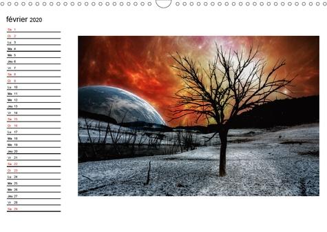 Paysages du bout du monde (Calendrier mural 2020 DIN A3 horizontal). Promenades aux frontières de l'univers (Calendrier anniversaire, 14 Pages )