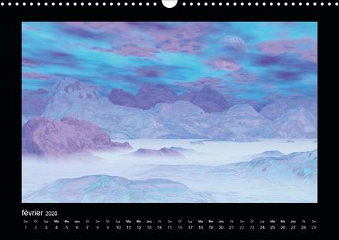 Paysages fantastiques (Calendrier mural 2020 DIN A3 horizontal). Des paysages comme vous n'en avez jamais vus (Calendrier mensuel, 14 Pages )