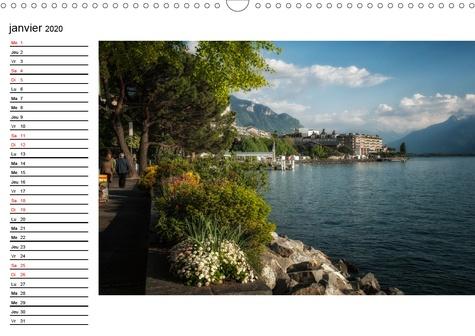 Paysages suisses (Calendrier mural 2020 DIN A3 horizontal). Paysages de Suisse, entre le lac Léman et Bâle (Calendrier anniversaire, 14 Pages )