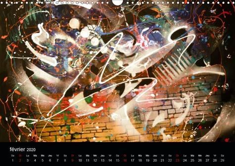 Peindre l'émotion (Calendrier mural 2020 DIN A3 horizontal). Un pur bonheur ! (Calendrier mensuel, 14 Pages )