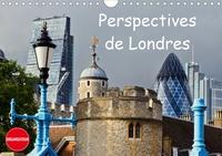 Andreas Schoen - Perspectives de Londres (Calendrier mural 2020 DIN A4 horizontal) - Une ville en changement permanent (Calendrier anniversaire, 14 Pages ).