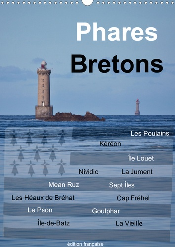 Phares Bretons (Calendrier mural 2020 DIN A3 vertical). Phares de Bretagne (Calendrier mensuel, 14 Pages )