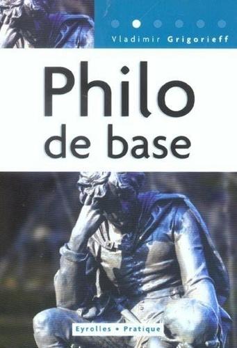 Vladimir Grigorieff - Philo de base.