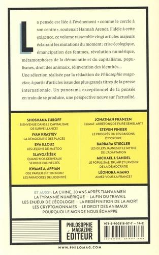 Philosophie Magazine  20 penseurs pour 2020. Les meilleurs articles de la presse internationale