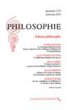 Alexandre Dupeyrix et Stéphane Haber - Philosophie N° 113, Printemps 20 : Adorno philosophe.