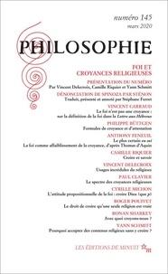Dominique Pradelle - Philosophie N° 145, mars 2020 : Foi et croyances religieuses.